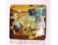 Mixing Plate | Ready made art