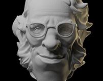 Sculptember #03 - Isaac Asimov