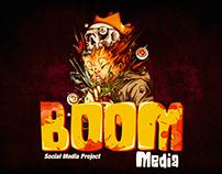 """BOOM """"Social media project """""""