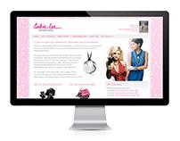 Website Design Concepts | Cookie Lee
