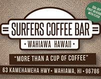Surfers Coffee Bar | Brand Identity and Promotion