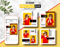 Instagram Banner Template