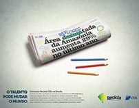 Anúncio Concurso Cultural Recicla CDL