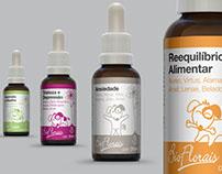 Bioflorais - Florais Pet - Design de Embalagens