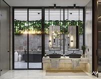 V1 Master Bathroom