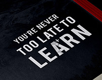 Learn. Be Different