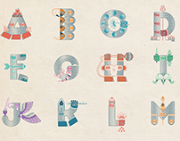 Mythography - An Illustrated Typeface