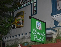 Logo for Elements Hostel
