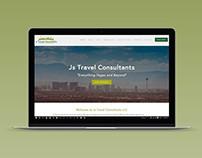 Js Travel Consultants web