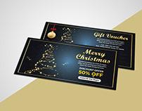 Christmas Gift Voucher Template