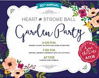 American Heart Association Utah Heart Ball Invitation