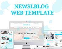 Newslblog-Magazine Blog Site Template