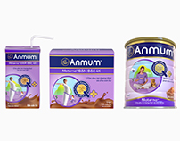 Anmum Packaging 3D