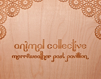 Animal Collective Wooden Posters