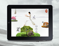 Yoga  application for iPad