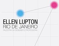 Poster | Ellen Lupton × Rio de Janeiro