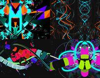 Metamorph Color - VJ Loop Pack (6in1)