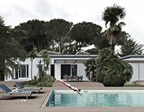 Private villa with swimpool