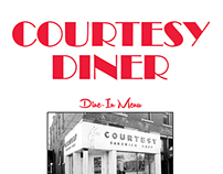 The Courtesy Diner - Menu Redesign