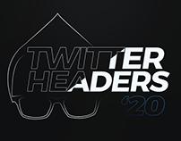 2020 Twitter Headers