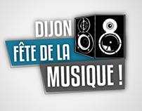 Fête de la Musique Dijon 2012 (Projet tuteuré)