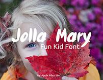 Jolla Mary Font