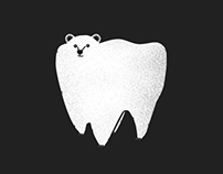 Molar Bear Illustration & Shirt Design