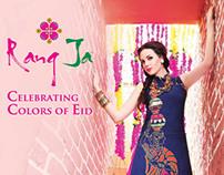 "RANG JA ""Celebrating Colors of Eid"" Campaign 2012"