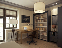 Zoologic apartment (3d modeling and visualization)
