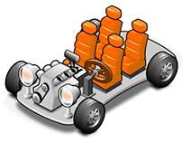 Vector Car Parts