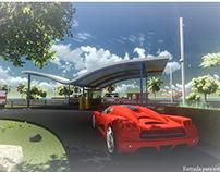 | Parking Main Entrance |
