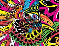 Peacock, symbol of freedom