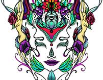 Ilustración personalizada para Tatuaje