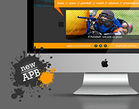 Arena Paintball | Web Design