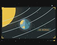 """Ilustraciones para """"Vuelta por el Universo"""", Paka Paka"""