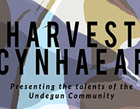 'Harvest' Art Exhibition poster at UNDEGUN