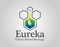 Logotipo Eureka Green Biotecnology