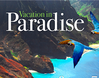 Email Blast for a Hawaiian Resort Company