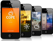 Cope weather app for wendly.com