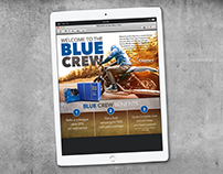 Blue Crew Email Campaign