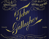 Initial Cover Design for John Gallagher
