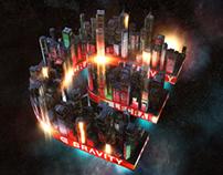 Lecrae Gravity Concert Visuals