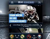 iOS App Deportes