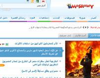 Masrawy Homepage