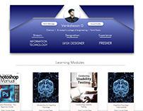 Profile Summary | Online learning platform | UI | Guvi