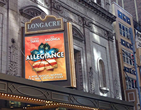 Allegiance: Broadway Marquee & Front of House