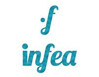 Infea logo design
