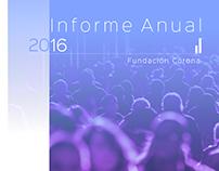 Diseño Editorial Fundación Corona