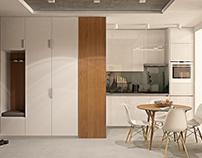 Small even mini apartment for couple