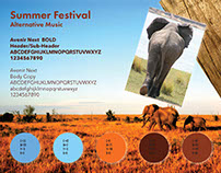 Elephant Fundraiser_Moodboards
